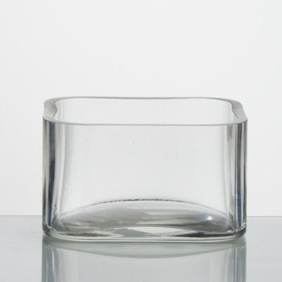 photo Vase-square 7285 - h100mm from glassworks Neman