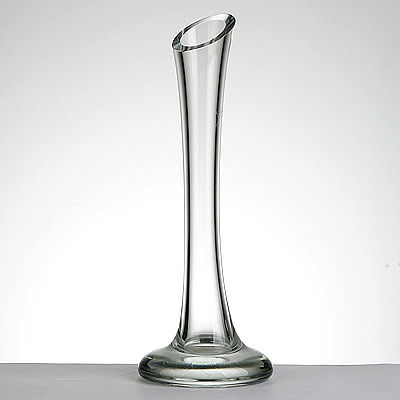 photo Flower Vase 7865 - h300mm from glassworks Neman