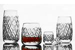 photo Crystal glasses from glassworks Neman