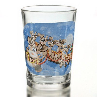 photo Glass d.New Year's Eve 10071 - 250ml from glassworks Neman