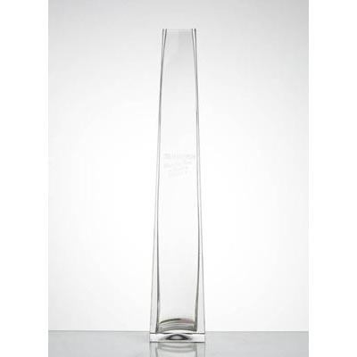 photo Vase-pyramid 8326 - h390mm from glassworks Neman