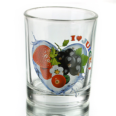 photo Glass d.Fruit heart 9268 - 200ml from glassworks Neman
