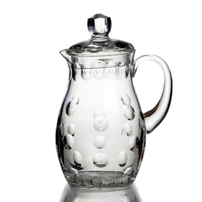 photo Jug with lid 5108 - 1.5l from glassworks Neman