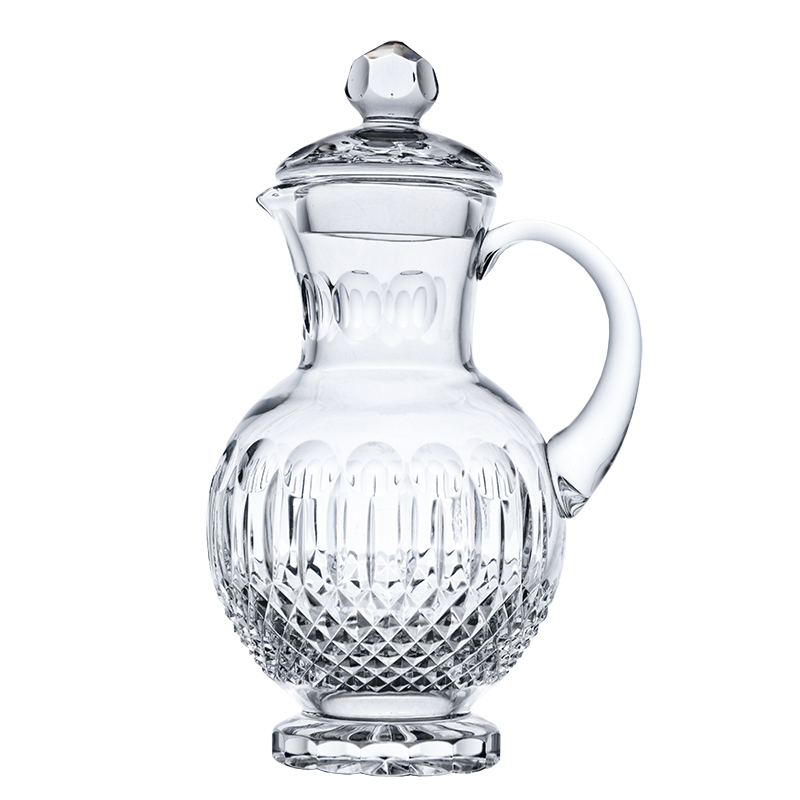 photo Jug with lid 5576 - 1.0l from glassworks Neman