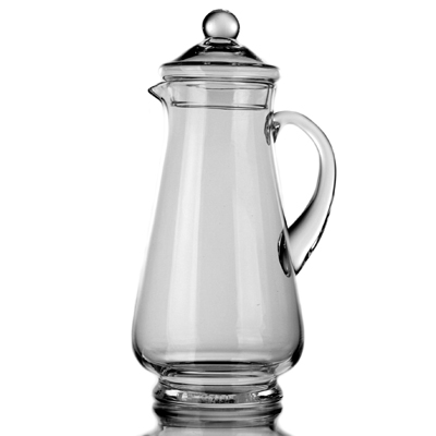 photo Jug with lid 7267 - 1.5l from glassworks Neman