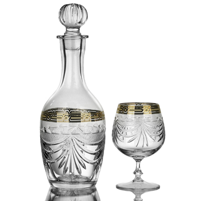 photo Cognac Set 6060 from glassworks Neman