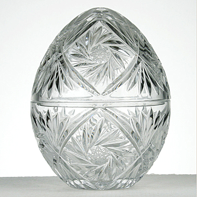 photo Egg casket 5201 from glassworks Neman