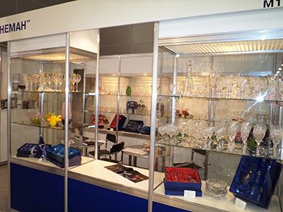 exhibition ProMaisonShow glassworks Neman