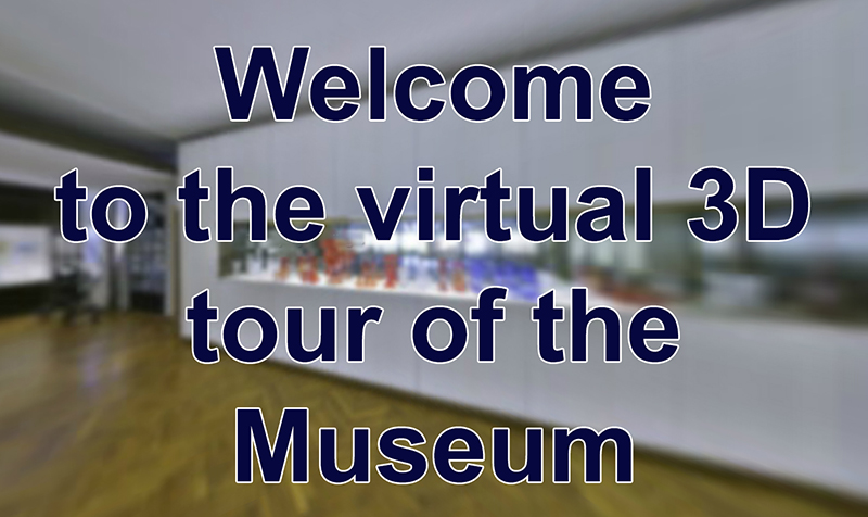 the virtual 3D tour of the Museum