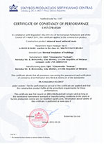 Certificate of European Union